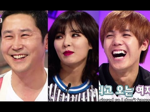 Hello Counselor - Hyuna & Gayoon (4Minute) and G.O. & Mir (MBLAQ) (2014.04.28)