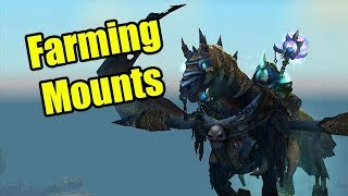 I'm Addicted to Farming Mounts in World of Warcraft