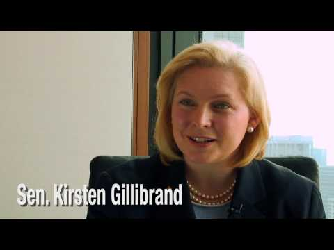 Senator Kirsten Gillibrand Discusses Don't Ask Don't Tell with Jason Bellini