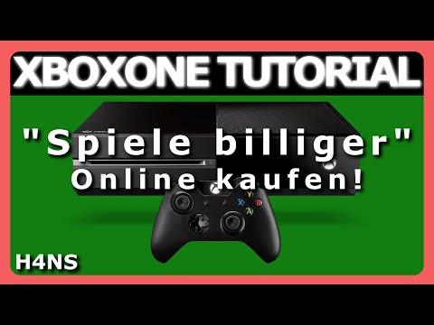 Spiele billiger Online kaufen XBOX ONE Tutorial Deutsch/German