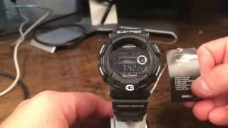 GR-9110BW-1DR GULFMAN Black - Casio G-Shock Watch Review - Tough Solar