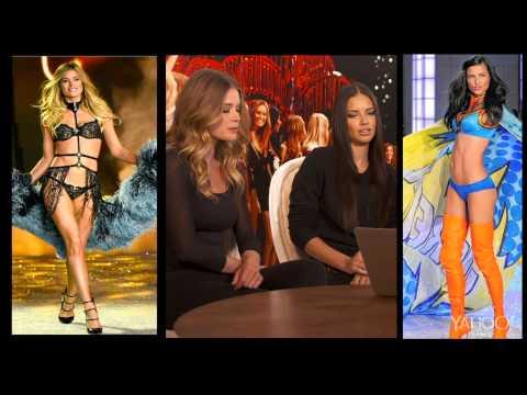 Doutzen Kroes & Adriana Lima: I Yahoo'd Myself