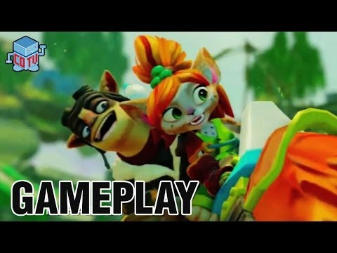 Skylanders Swap Force Gameplay 03 Mudwater Hollow