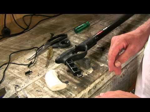 Repairing Omer Cayman speargun