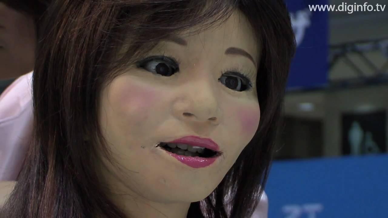 Robot Life Like Saya Life-like Reception Robot