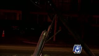 Car accident causes south side power outage