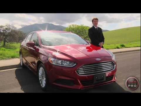 2013 Ford Fusion Hybrid Review & Test Drive by Chris Leary for Car Pro News