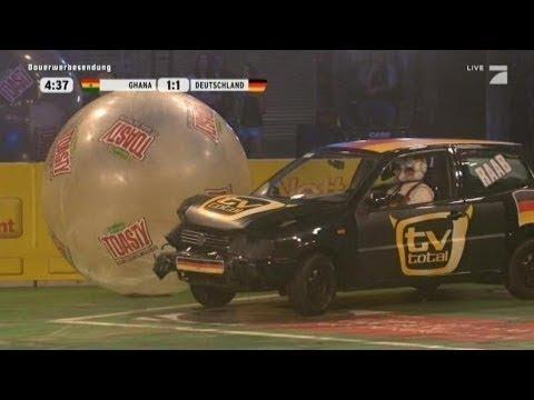 Gruppe B: Ghana - Deutschland - TV total Autoball