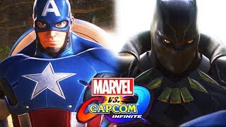 MARVEL vs. CAPCOM: INFINITE All Cutscenes (Game Movie) 1080p HD