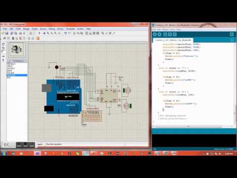 Serial Port Communication Proteus + Arduino