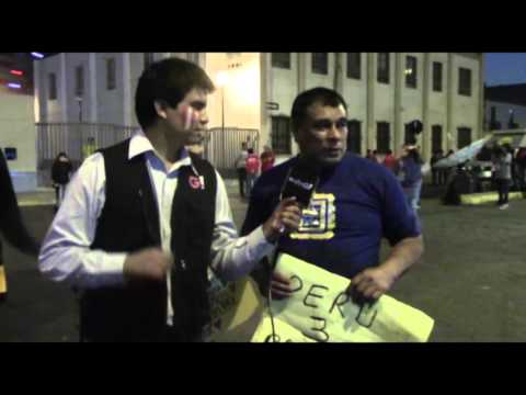 Radio G! en el Partido Perú vs Paraguay