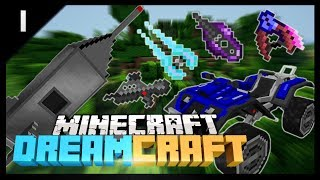 Minecraft DREAM CRAFT #1 'MINING STARS!' (Star Wars Mod Pack - DreamCraft Part 1)