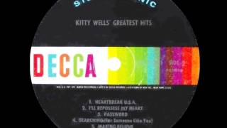 Watch Kitty Wells Heartbreak U.s.a. video