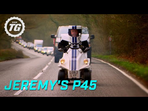 Jeremy's P45 - Smallest Car in the World! - Extended Full HD - Top Gear - BBC