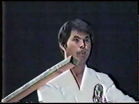 Isshin Ryu Karate Breaking Demonstration 1986