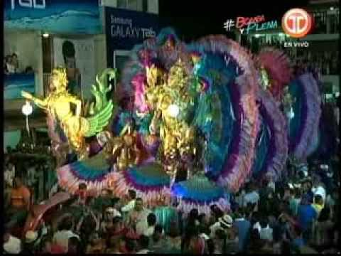 Noche Sábado de Carnaval 2014 - Calle Abajo de Las Tablas