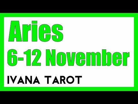 💘 TWO OPPORTUNITY Aries Weekly Reading 6 - 12 November Ivana Tarot