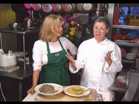 Regina's  Vegetarian Table - Soft Cheese Grits with Spoon Bread Variation: Episode 412