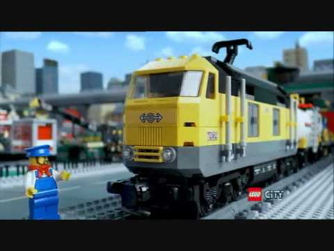 Spot Lego City Trenes, Referencias 7938 y 7939