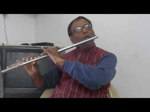 Do deewane shahar me ..... on key flute