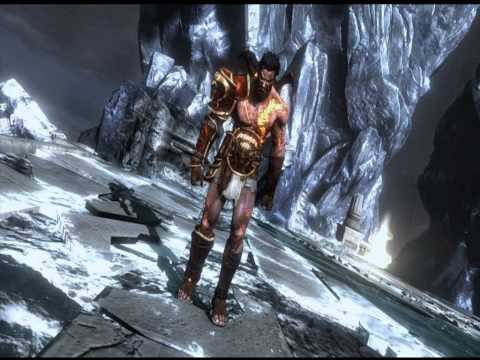 Primeras Imagenes del Hermano de Kratos Deimos en God of War 3.