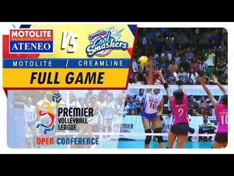 PVL OC 2018: Ateneo-Motolite vs Creamline   Game  1st Set  October 28 2018