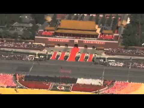 Chinese Female Soldiers Parade   Amazing and Crazy videos
