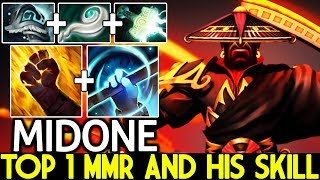 Midone [Ember Spirit] Top 1 MMR and His Skill Cancer Gameplay 7.21 Dota 2