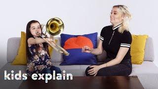 Kids Explain Music to a Deaf Person | Kids Explain | HiHo Kids