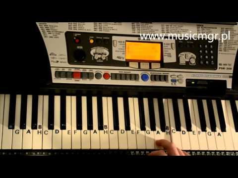 Jak Zagrać Na Keyboardzie #7 Hallelujah - Keyboard Cz. 1