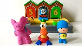Pocoyo Thomas and Friends Pop Up Baby Toy