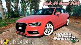 GTA 5 Crash test - Audi A4 Avant 2013