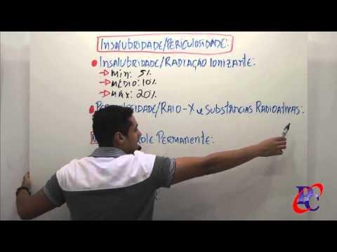Direito Administrativo - LC 840/2011 (Servidores do DF): Insalubridade e Periculosidade