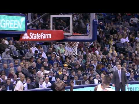 Marc Gasol Finishes Acrobatic Layup