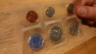American Silver Proof Coins 1957