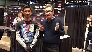 Me and Tom Kenny (Spongebob, Ice King) at C2E2 2k18!!