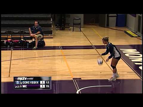 Montgomery College Raptors vs. CCBC-Essex Knights: NJCAA Women's Volleyball, 10/2/14