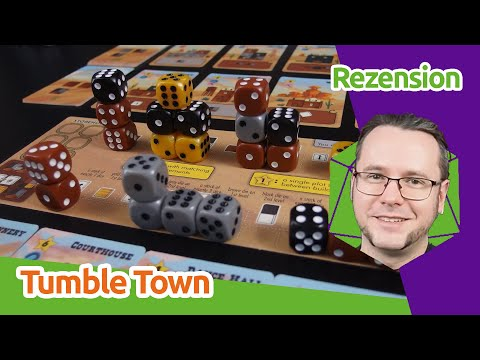 Tumble Town - Brettspiel-Rezension   staygeeky
