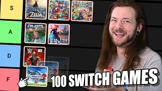 Ranking 100 Nintendo Switch Games from BEST to WORST!