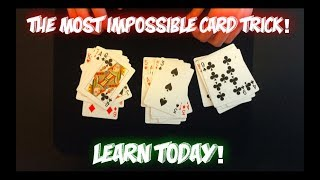 """""""The 27 Card Trick"""" IMPOSSIBLE Mathematical Card Trick For Beginners! Performance And Tutorial"""