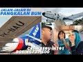 NAM AIR Flight IN191 Pangkalan Bun ke Jakarta + Jalan-Jalan Vlog