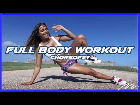 Full Body Workout Routine with Music | ChoreoFit by Magga Braco | Magga Braco