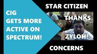 Star Citizen STAFF ADDRESSES ISSUES ON SPECTRUM