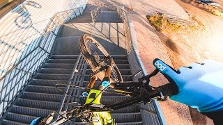 URBAN FREERIDE MOUNTAIN BIKE STREET TOUR CHEMNITZ - Rose Bikes Soulfire 3 / The Bruce