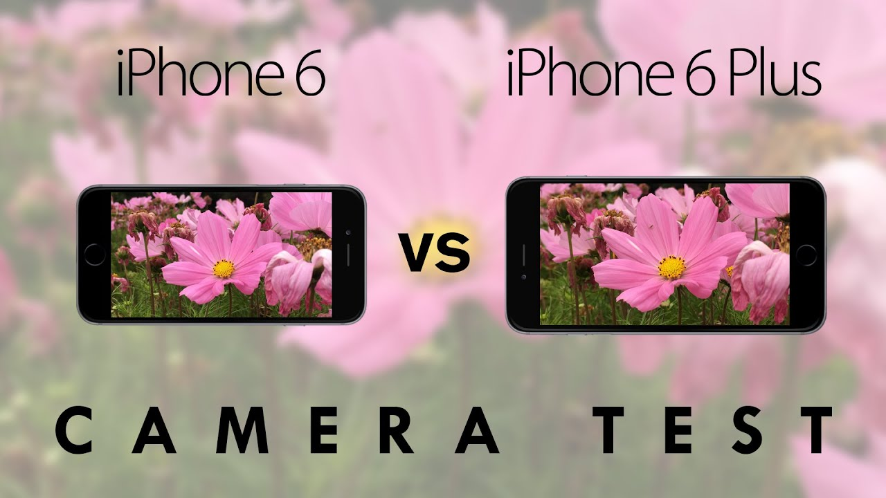Iphone 5s vs Iphone 6 Front Camera Iphone 6 vs 6 Plus Camera