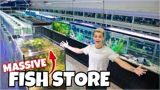 The BIGGEST FISH STORE in My State!!!