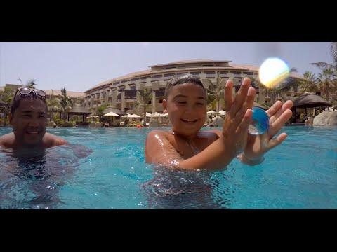 GoPro Hero 4 Silver Time-lapse: Swimming Pool Fun-times at Sofitel The Palm, Dubai