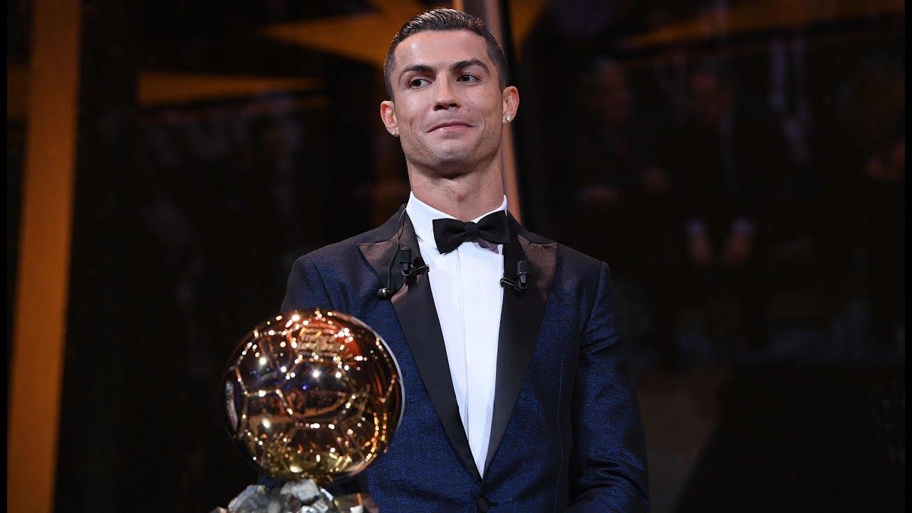 Ronaldo levels Messi's record 5th Ballon d'Or win
