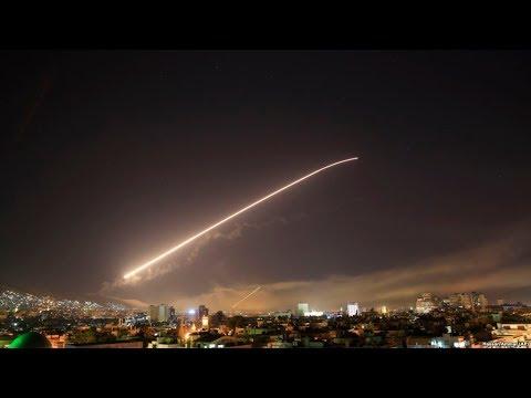 США и их союзники нанесли удары по Сирии / Новости