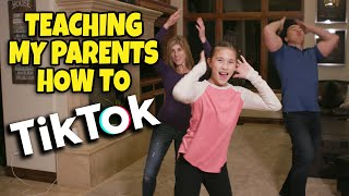TEACHING MY PARENTS HOW TO TikTok!!! Get Up (Ciara ft. Chamillionaire) TikTok Dance Tutorial